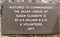 Memorial Plaque on Churchill Clock Tower.jpg