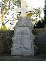 Memorial cross outside Trinity House, Ware. - geograph.org.uk - 315575.jpg