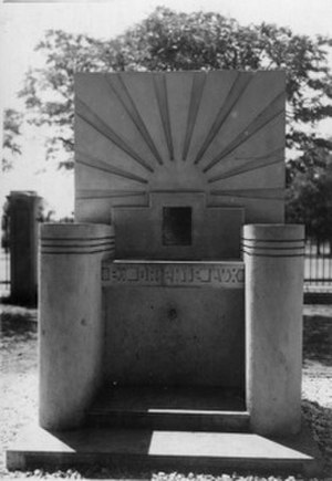 William Alexander Young - Memorial fountain erected in memory of Dr H Noguchi and Dr WA Young