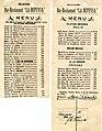 Menu for La Defensa Restaurant - NARA - 6341083.jpg
