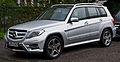 Mercedes-Benz GLK 220 CDI 4MATIC Sport-Paket AMG (X 204, Facelift) – Frontansicht, 24. August 2014, Düsseldorf.jpg