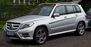 Mercedes-Benz GLK-Class Motor vehicle