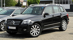 Mercedes-Benz GLK przed liftingiem