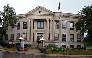 Das Mercer County Courthouse in Princeton
