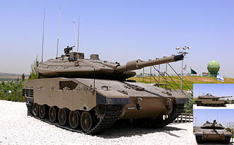 Armored Corps (Israel) - Merkava Mk IV main battle tank