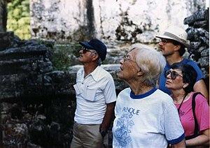 Merle Greene Robertson - Image: Merle Green Robertson Palenque 86