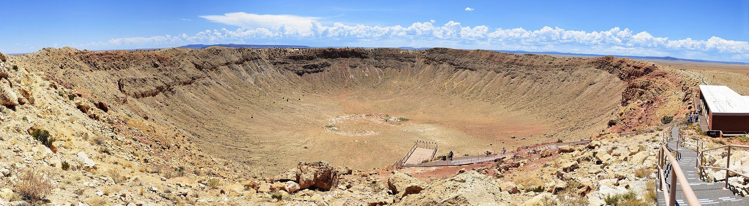 Meteor Crater, Near Winslow, Arizona  № 1143934 загрузить