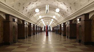 Krasnye Vorota (Moscow Metro) - Image: Metro Krasnye Vorota