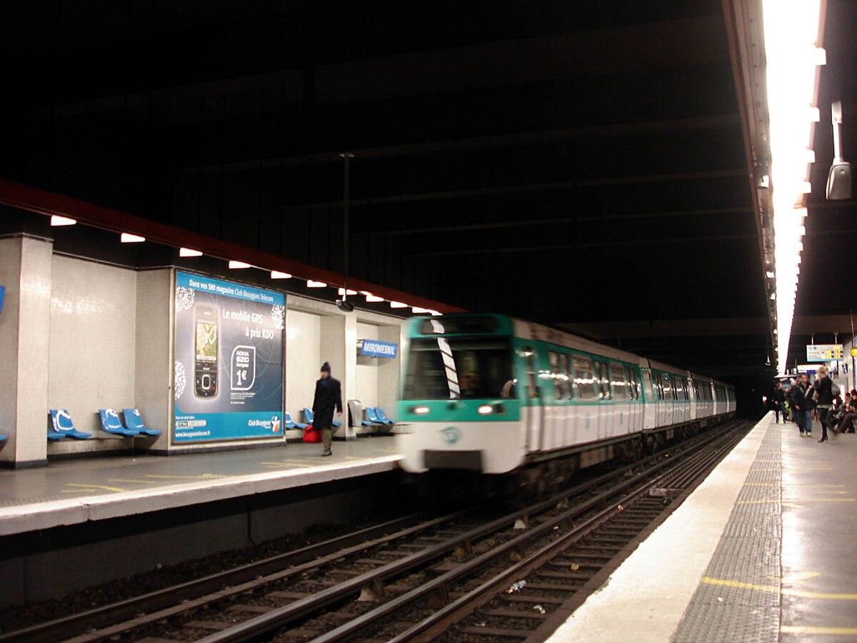 Miromesnil (Paris Métro) - Wikipedia