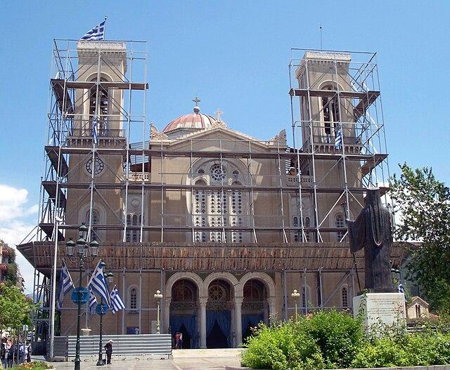 Cathédrale d'Athènes