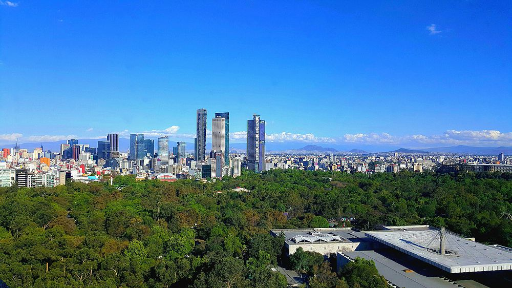 Mexico City Reforma skyline.jpg