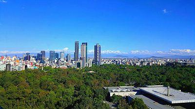 Mexico City Reforma skyline.jpg