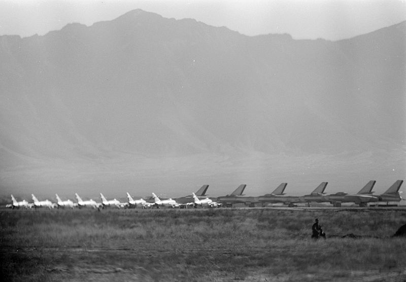 MiG-15s and Il-28s at Kabul 1959.jpg