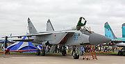 MiG-31BM on the MAKS-2009 (01)