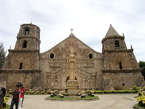 Iloilo - The Miag-ao Church is one of the Baroque Churches of the Philippines.