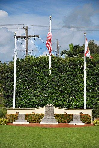 Miami Shores, Florida - Image: Miami Shores Memorial Park 2