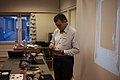 Michael Schloh Von Bennewitz Busy Prepareing Iot Workshop (130793583).jpeg