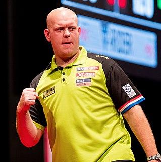 Michael van Gerwen Dutch darts player