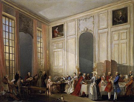 Michel-Barthelemy Ollivier - Afternoon Tea at the Temple - WGA16645.jpg