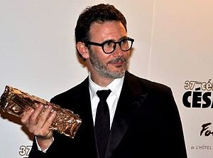 37th César Awards - Michel Hazanavicius, César Award for Best Director.