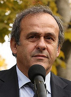 Michel Platini French association football player, manager and administrator