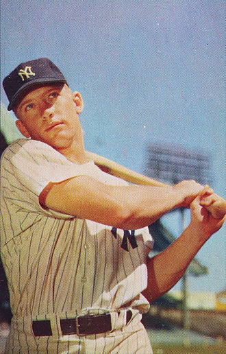 New York Yankees - Mickey Mantle was one of the franchise's most celebrated hitters, highlighted by his 1956 Triple Crown.