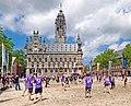 Middelburg, Beachvolleyball am Rathaus.jpg