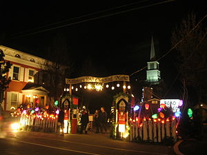 Mifflinburg, Pennsylvania - The Mifflinburg Christkindl market in 2012