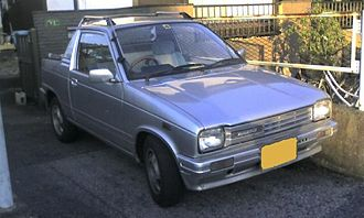 Suzuki Mighty Boy - Front view of facelifted Mighty Boy PS-L