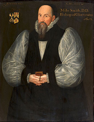 Bishop of Gloucester - Image: Miles Smith