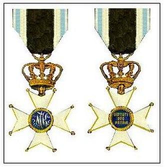 Military Order of Max Joseph - Military Max Joseph Order