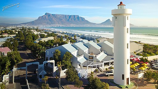 Milnerton Lighthouse, Western Cape, South Africa