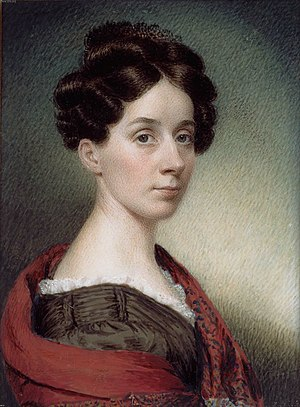 Sarah Goodridge - Self portrait, 1830.