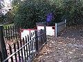 Miniature Railway Level Crossing, Barking Park - geograph.org.uk - 1732198.jpg