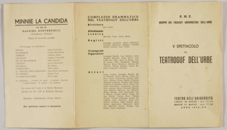 Massimo Bontempelli - Title page of Minnie la candida by Massimo Bontempelli (1928)