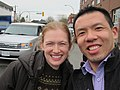Mireille Enos set of The Killing March 2012.jpg