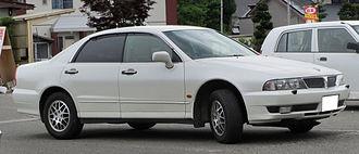 Mitsubishi Diamante - 2002–2005 Mitsubishi Diamante 25V sedan (Japan)