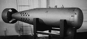 Mk 101 Lulu - Mk-101 Lulu NDB (Nuclear Depth Bomb).