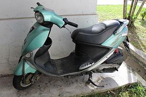 Modenas - A Modenas Ceria scooter