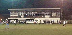 Molesey F.C. - Walton Road Stadium, home of Molesey FC