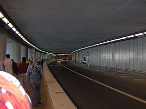 Circuit de Monaco - The tunnel.