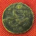 Monetiere di fi, moneta romana repubblicana con pegaso e chimera.JPG