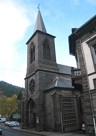 Mont-Dore - Image: Mont Dore Church