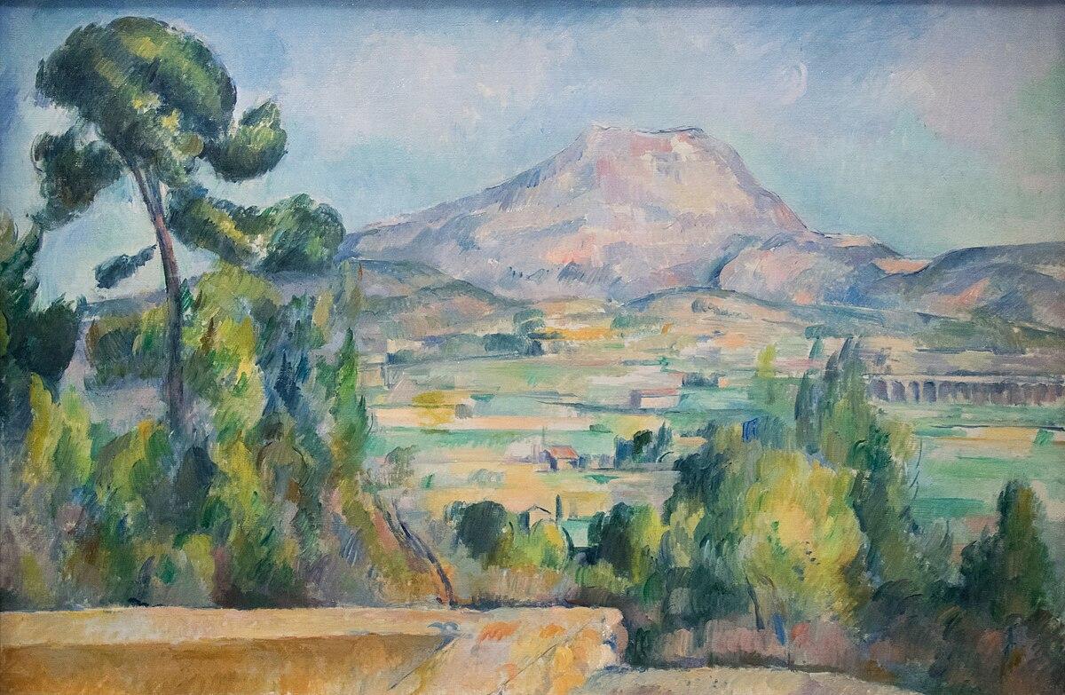 File:Montagne Sainte-Victoire - Paul Cézanne.jpg ...