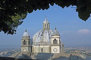 Montefiascone Cathedral - Image: Montefiascone kirche