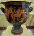 Montopoli val d'arno, museo di palazzo guicciardini, cratere attico a figure rosse, da populonia, 390 ac. ca. 01.JPG