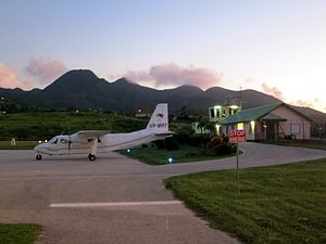 John A. Osborne Airport - Image: Montserrat Airport (15632994595)