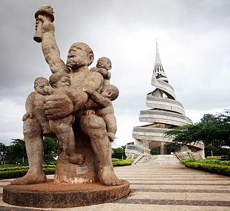 History of Cameroon - Reunification Monument in Yaoundé