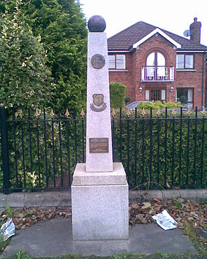 Glenmalure Park - Image: Monument at Glenmalure Square