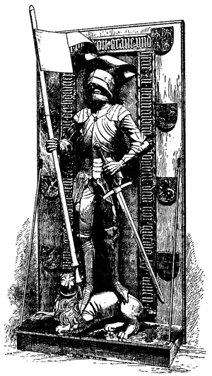 Römhild - Engraving of Monument of Count Otto IV of Henneberg.png by Vischer workshop